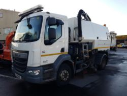 Online Auction Johnston Sweeper and 6 x Dennis Eagle Refuse Collection Vehicles