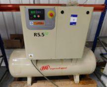 Ingersoll Rand R5.5 Rotary Screw Compressor s/n UCV1024903 (2019) 1354 Hours & Hi-Line Air Dryer (