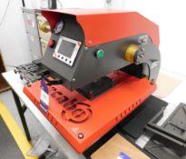 Secaro APDS-20 Pneumatic Heat Press s/n 90001306 & Additional Platens