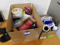 Quantity of Stationary and Sundries to Two Boxes
