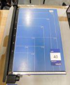 Trimfast Manual Paper Guillotine