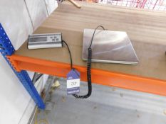Smart Weight Electronic Scales Capacity 200kg x 50g