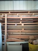 Quantity of Various Faced MDF Boards