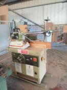 SCM T 110A Spindle Moulder Machine No. AE-46865 with Steff 2038 Power Feed