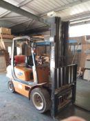Samsung SF30L 2200kg Capacity LPG Forklift Serial