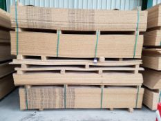 Approx. 86 Mixed Melamine Faced Chipboard Panels
