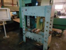 Vertical Hydraulic Garage Press (no Power Pack)