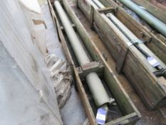 Hydraulic Ram 2580mm x 60mm, 120mm Diameter to Cra
