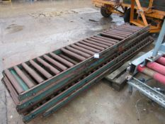Rapistan Roller Conveyor 550 x 5 Sections 3m each