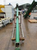 125mm Auger 4400mm, 3PH in Mobile Frame