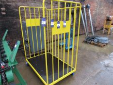 5 Steel Cages, Yellow 100x1400x1850mm