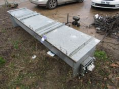 Guttridge Reception Pit Auger 300x3400mm, No Motor