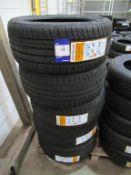 5 unused Excelon Performance UHP 225/40R18 92Y XL tyres