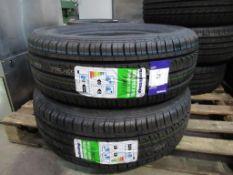 2 unused Routeway Roadtrek RY55 226/65R16C 112/110R tyres