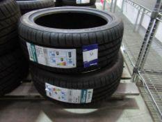2 unused Jinyu Gallopvo YH18 195/45R16 84W XL tyres