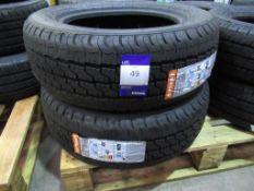 2 unused APTany 215/60R16C 8PR/D 108/106T RL023 tyres
