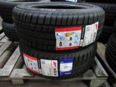 2 unused Riken 185/55R15 82V tyres