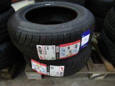 2 unused Riken 185/65R14 86H tyres
