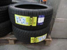 2 unused Blacklion BU66 205/40ZR17 84W XL tyres