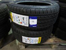 2 unused Delinte DH2 215/50ZR17 95W XL tyres