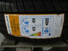1 unused Excelon Performance UHP 185/55R16 87V XL tyre and 1 Excelon Touring HP 195/65R15 92H XL tyr