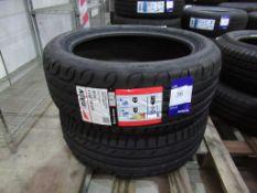2 unused Riken 205/50ZR17 93W extra load tyres