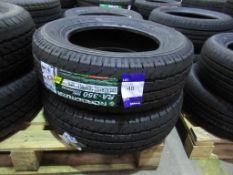 2 unused Roadcruza RA-350 205/65R15C 102/100T 6PR van tyres