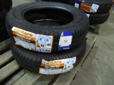 2 unused Centara Vanti AS 155/70R13 75T tyres
