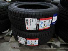 2 unused Riken 185/55R15 82H tyres