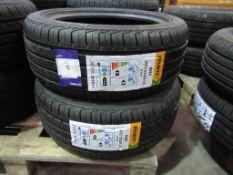 2 unused Delinte DH2 205/50ZR16 87W XL tyres