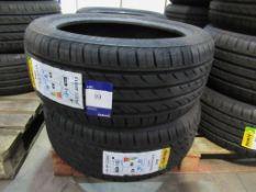 2 unused Delinte DH2 235/45ZR18 98W XL tyres