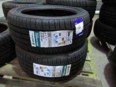 2 unused Jinyu Gallopvo YH18 205/45R16 87W XL tyres