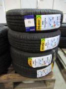 4 unused Delinte DH2 155/65R14 75T tyres