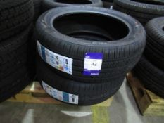 2 unused Event Forum HP 195/50R16 XL 88V tyres