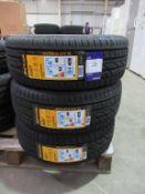 3 unused Aplus A607 195/55R16 91V XL tyres
