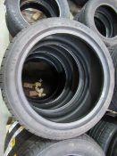 4 unused Delinte DH2 215/45ZR17 91W XL tyres