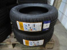 2 unused Excelon Touring HP 185/60R14 82H tyres