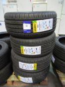 4 unused Delinte DH2 235/45ZR17 97W XL tyres