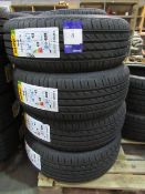 4 unused Delinte DH2 205/60R16 92V tyres