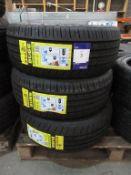 3 unused Blacklion BU66 205/45ZR17 88W XL tyres