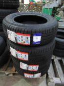 4 unused Riken 195/65R15 91H tyres