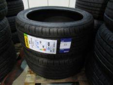 2 unused Delinte DH2 235/40ZR18 95W XL tyres