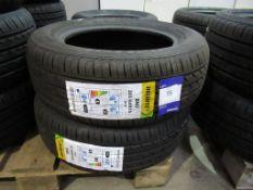 2 unused Delinte DH2 205/60R15 91V tyres