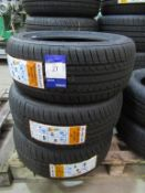 3 unused Excelon Performance UHP 195/50R15 82V tyres