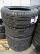 4 unused Delinte DH2 225/50ZR17 98W XL tyres