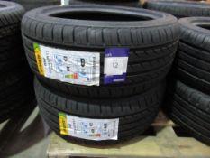 2 unused Delinte DH2 225/45ZR17 94W XL tyres