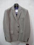 Bladen 2 button mens checked jacket