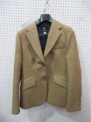 Wensum Tailoring tweed style 2 button ladies jacket