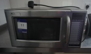 Sharp 1000w commercial microwave