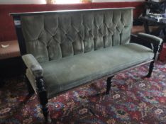 Upholstered bench seat 1900mm
